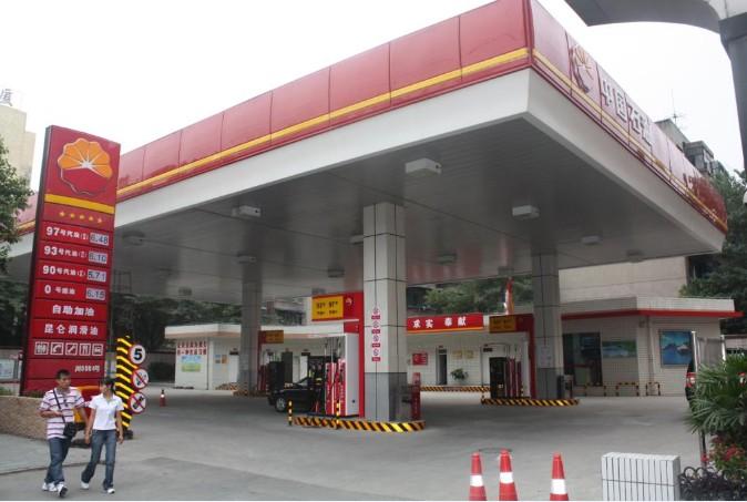 中石油成都武侯全支付自助加油站